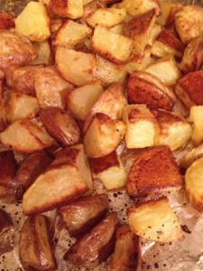 Pan-Roasted Diced Potatoes
